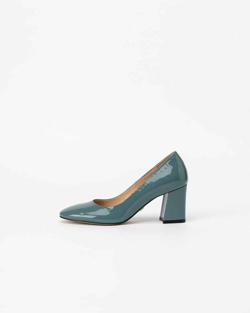 Matilda Pumps in Down Blue