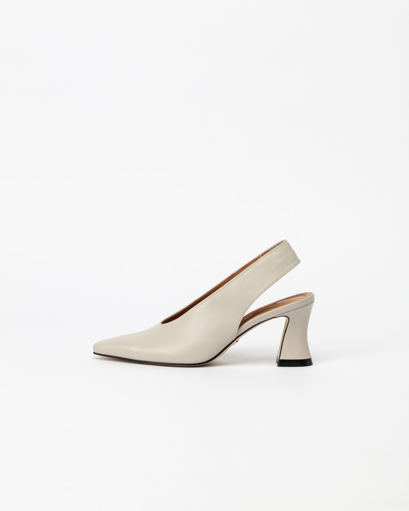 Nolke Slingback Pumps in Ivory