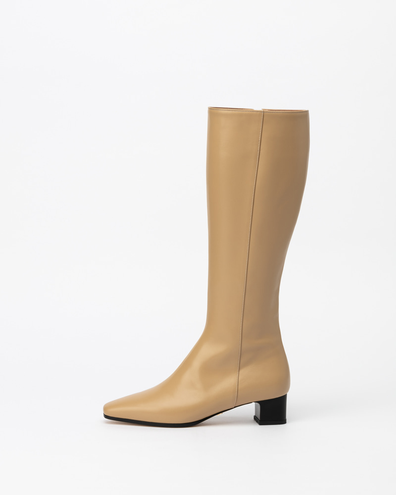 Emerson Boots in Beige