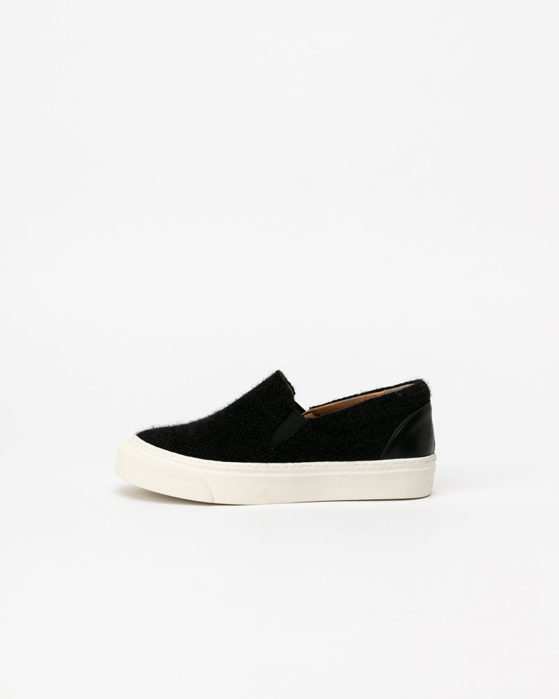 Molita Angora Slip-on Sneakers in Black