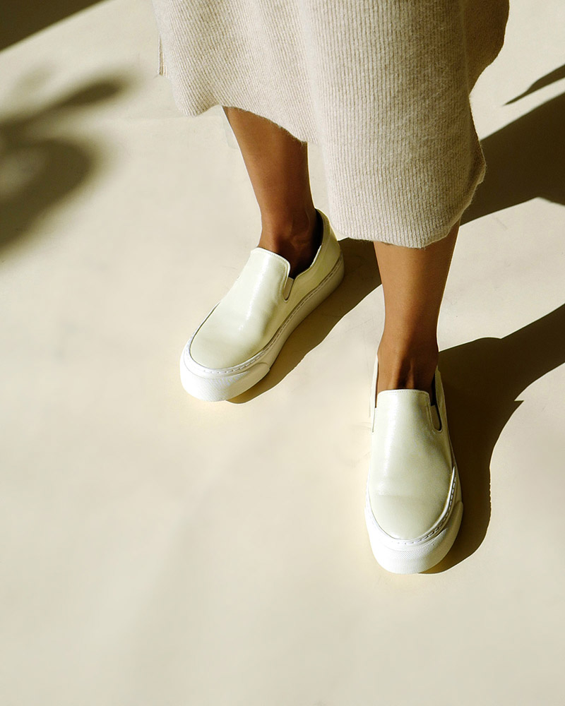 Palo Slip-on Sneakers in Ivory