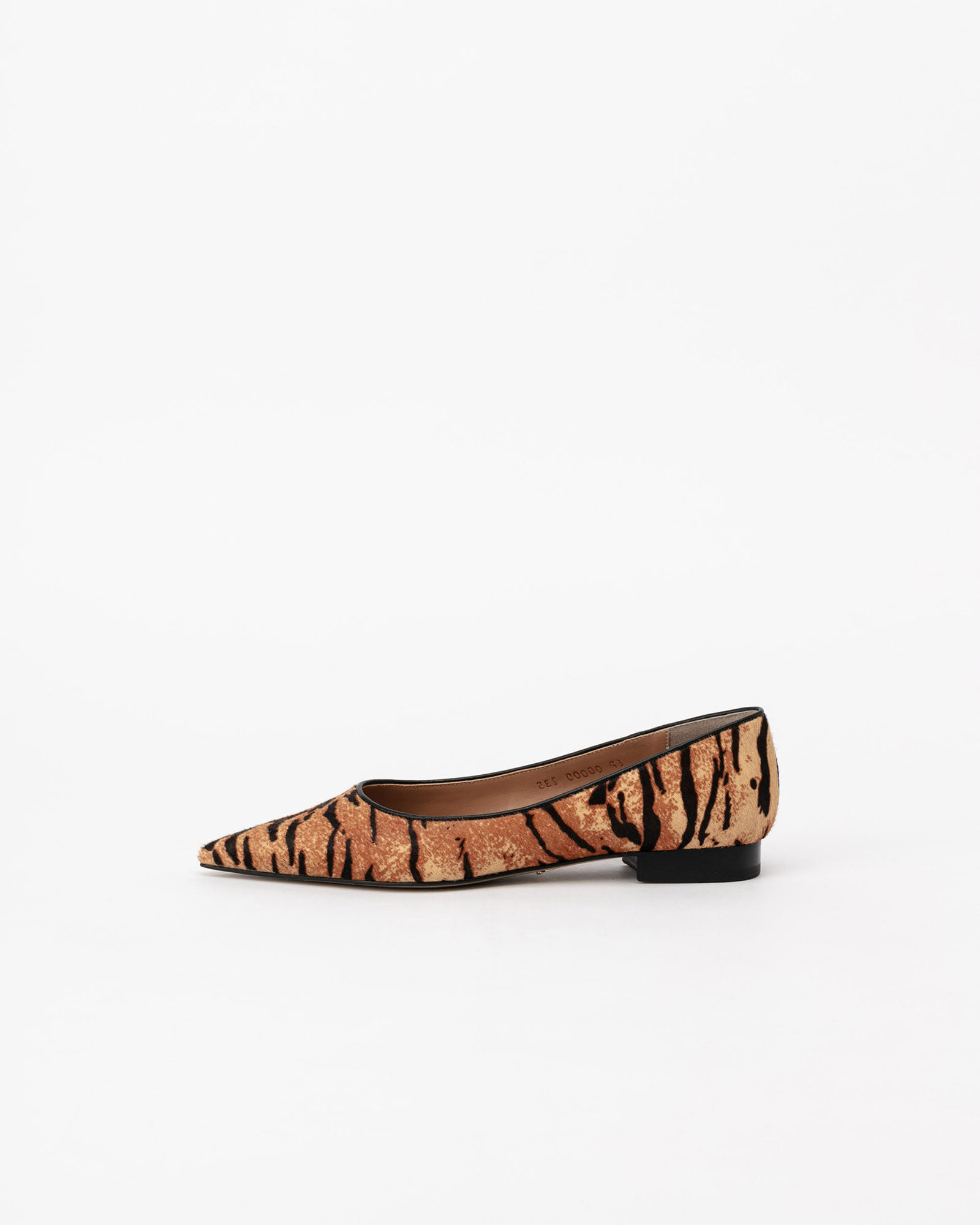 Cheryl Flat Shoes in Tiger Prints