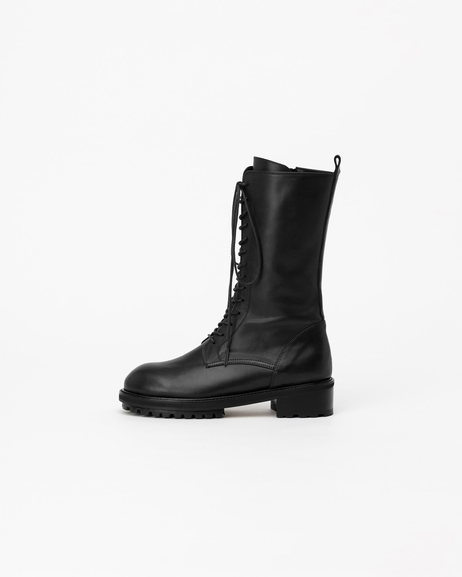 Gotham Combat Boots in Black