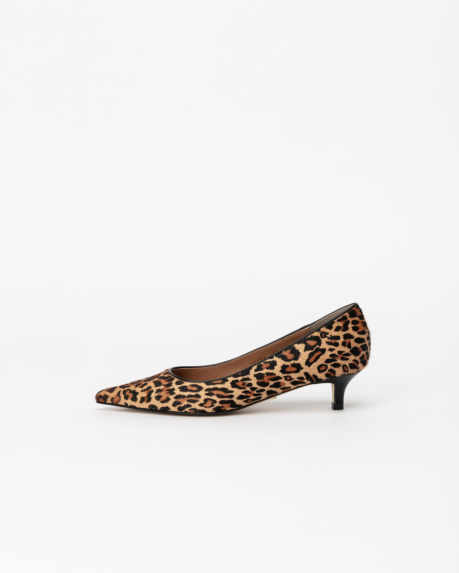 Philo Pumps in Leopard Printed Hair