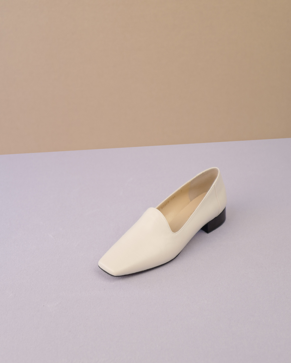 Tamara Loafers in Ivory Calf