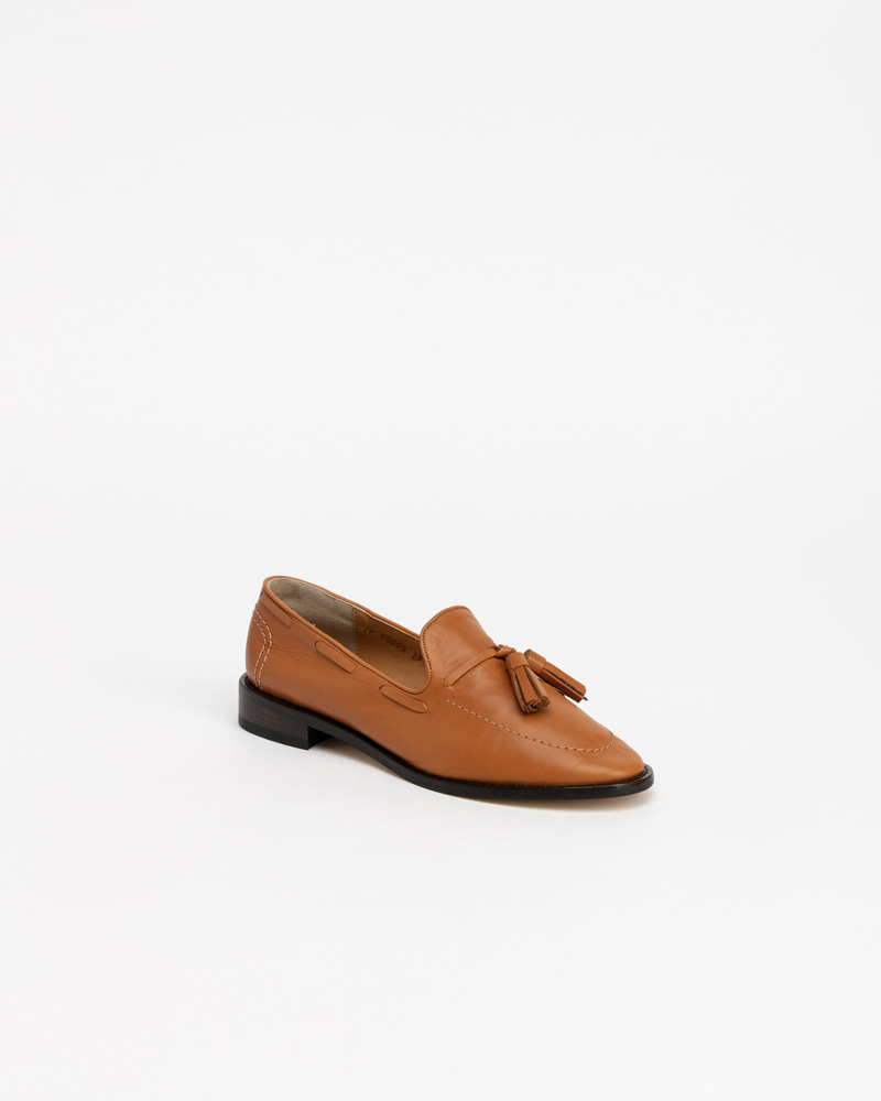 Veron Loafers in Camel Calf