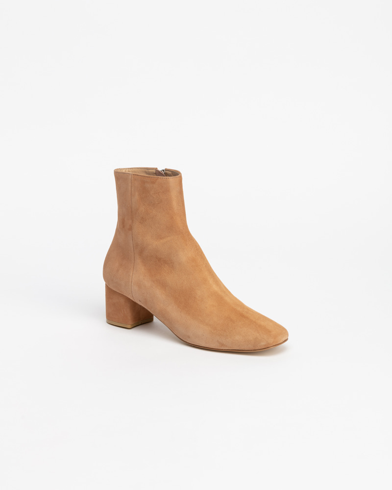 Beacon Boots in Beige Suede