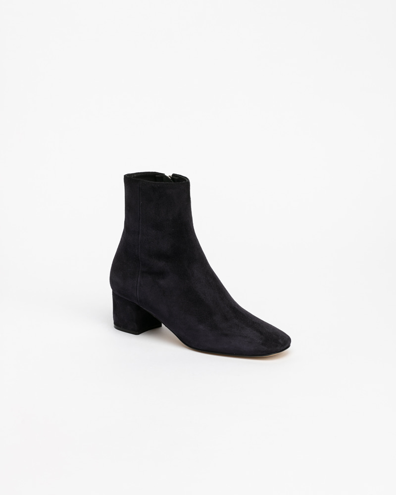 Beacon Boots in Deep Navy Suede