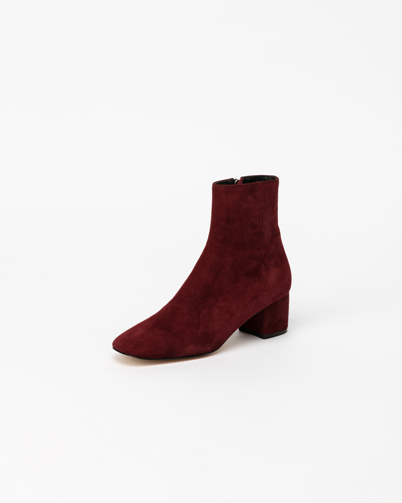 Beacon Boots in Deep Wine Suede