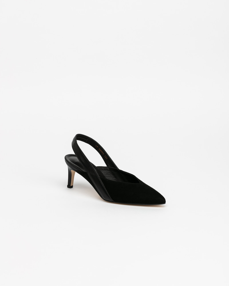 Persiana Slingbacks in Black