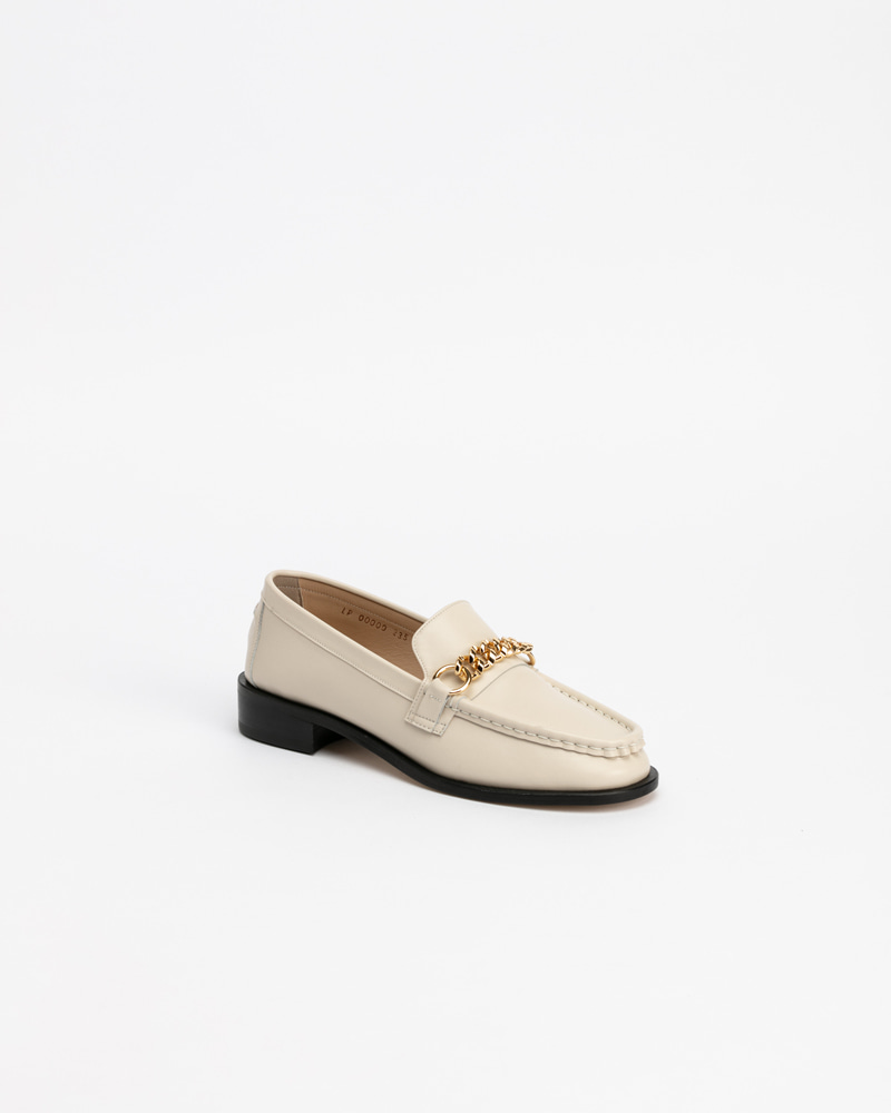 Baden Loafers in Ivory