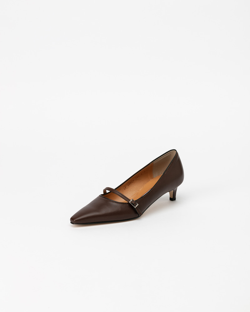 Brooks Pumps in Brown Calf