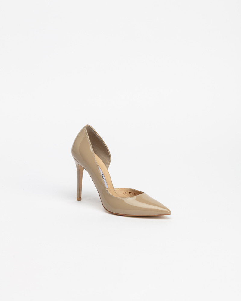 Lecote Pumps in Sand Beige Patent