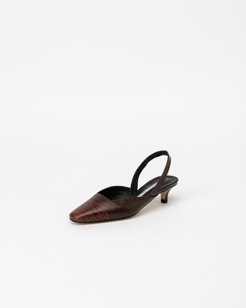 Bana Slingbacks in Brown