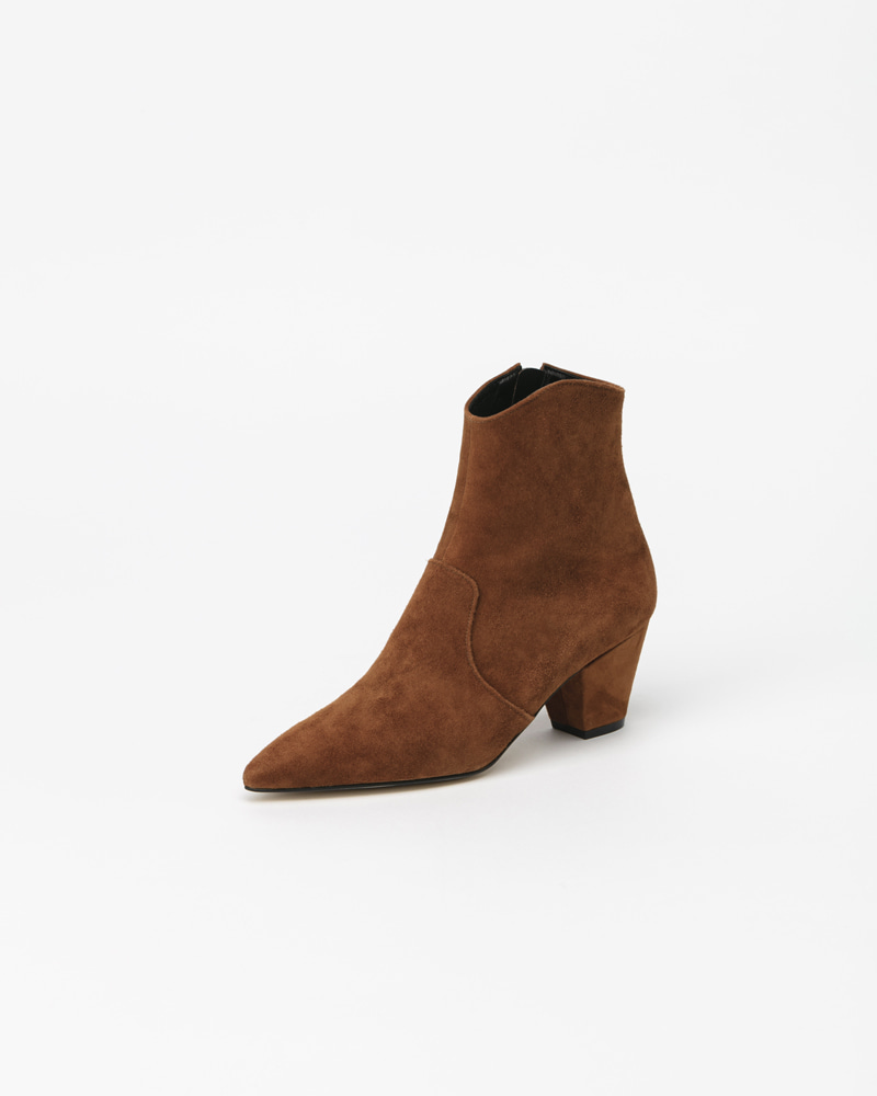 Bonita Boots in Camel Brown Suede
