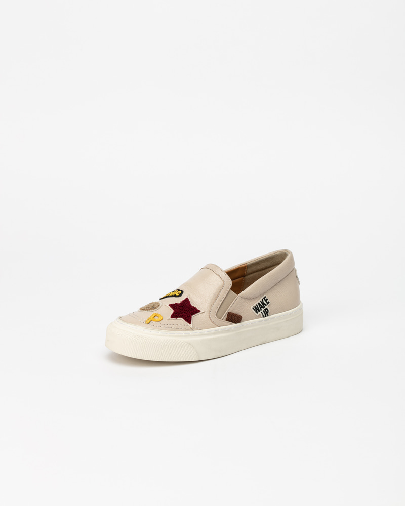 Hilo Slip-on Sneakers in Ivory