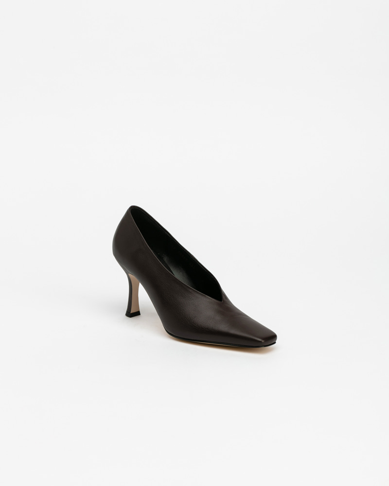 Mecenas Pumps in Dark Brown