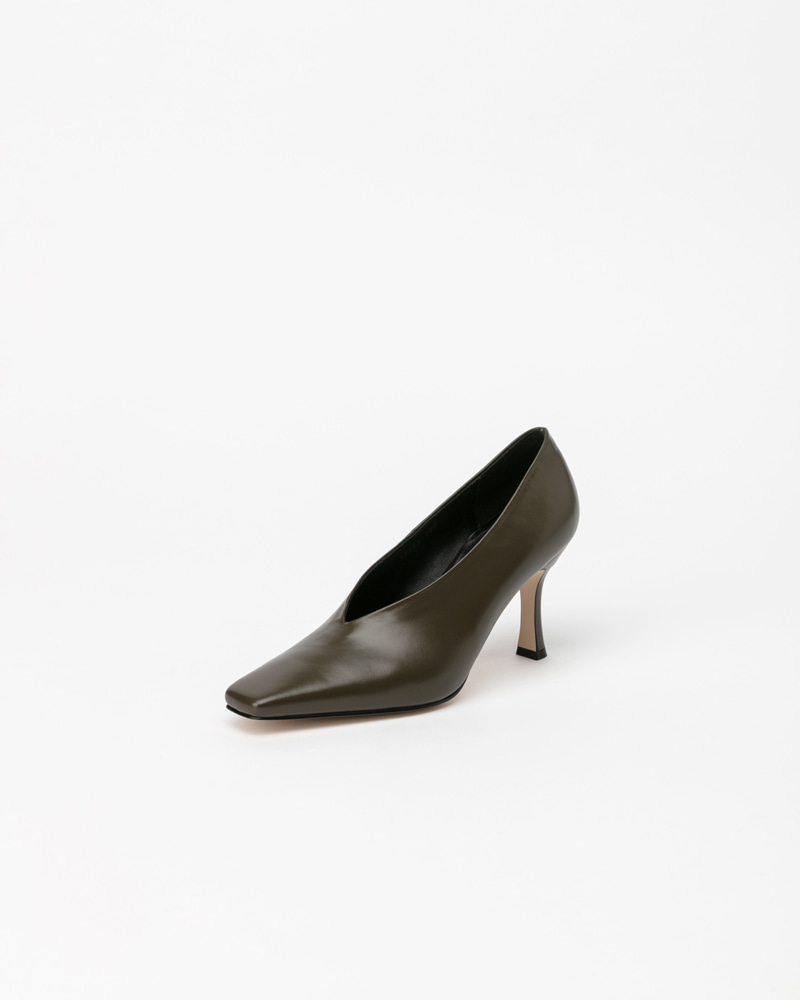 Mecenas Pumps in Khaki