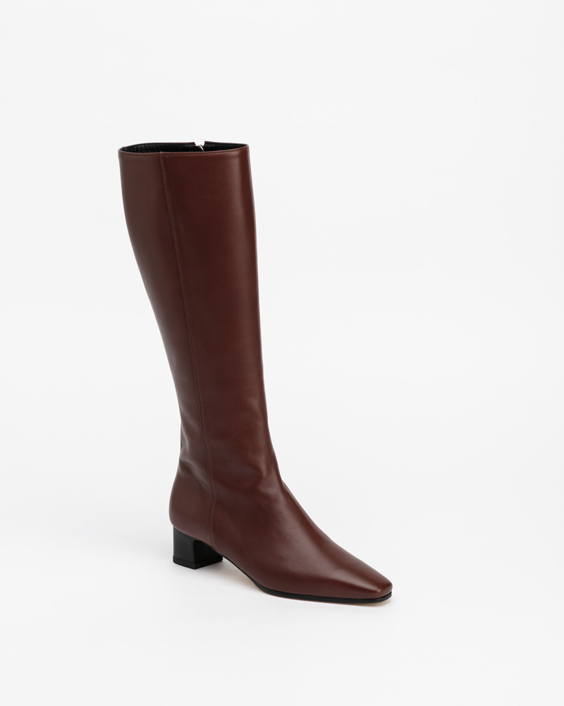 Emerson Boots in Iron Brown