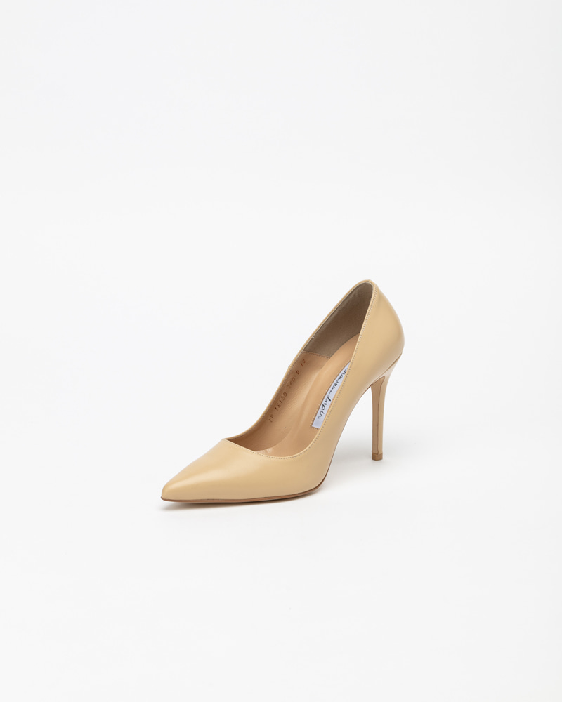 Naive Pumps in Vintage Beige Leather
