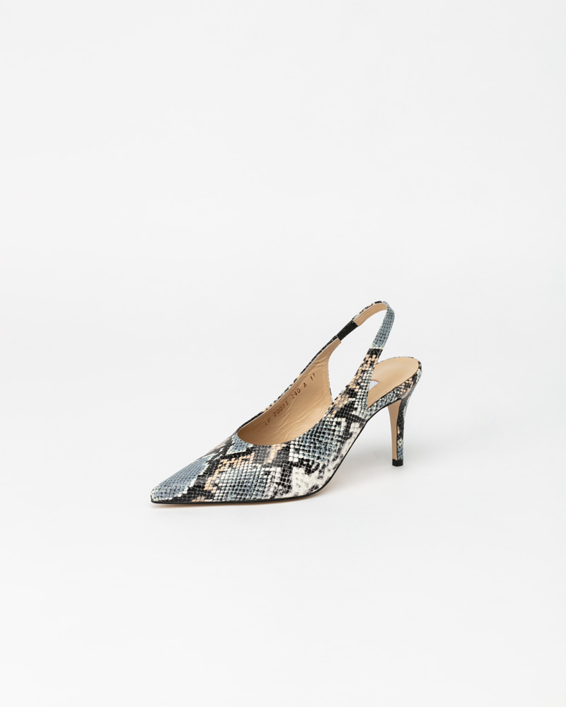 Raine Slingbacks in Snake Print