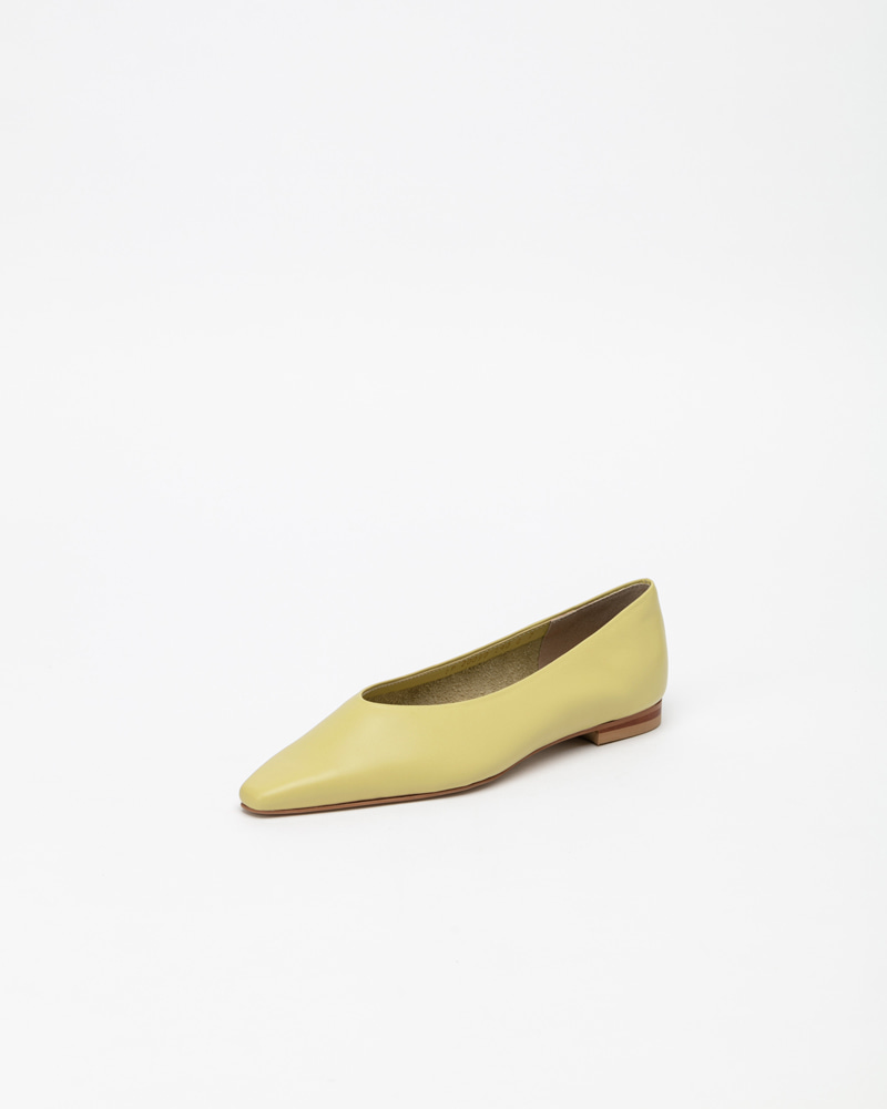 Yvonne Flats in LineLight Yellow