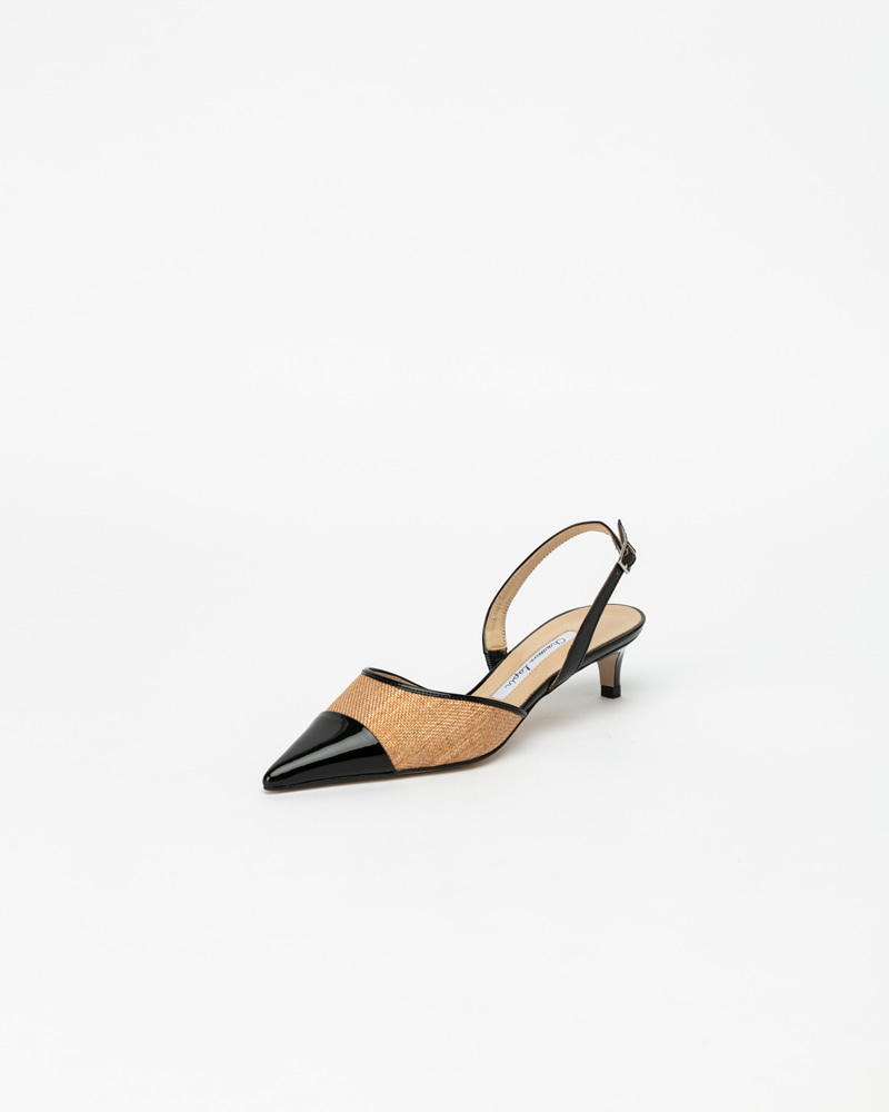Chloe Slingbacks with Black Toe