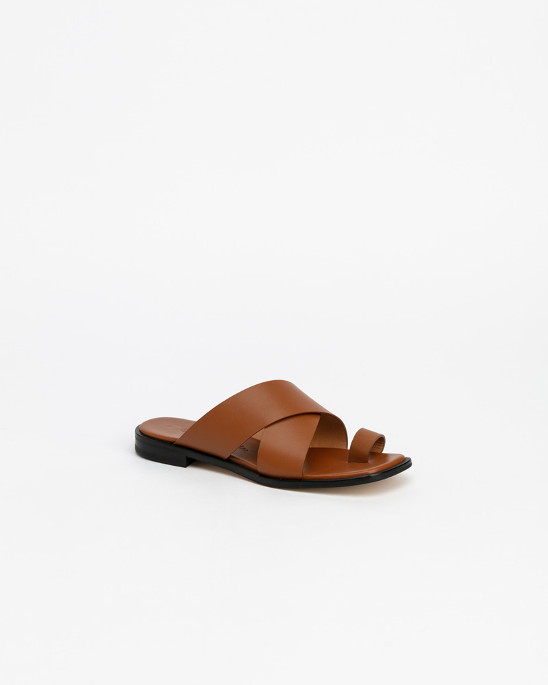 Tortois Ring Slides in Brown