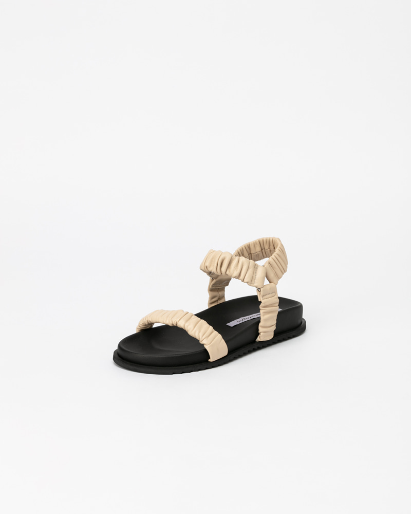 Duffon Footbed Sandals in Ivory