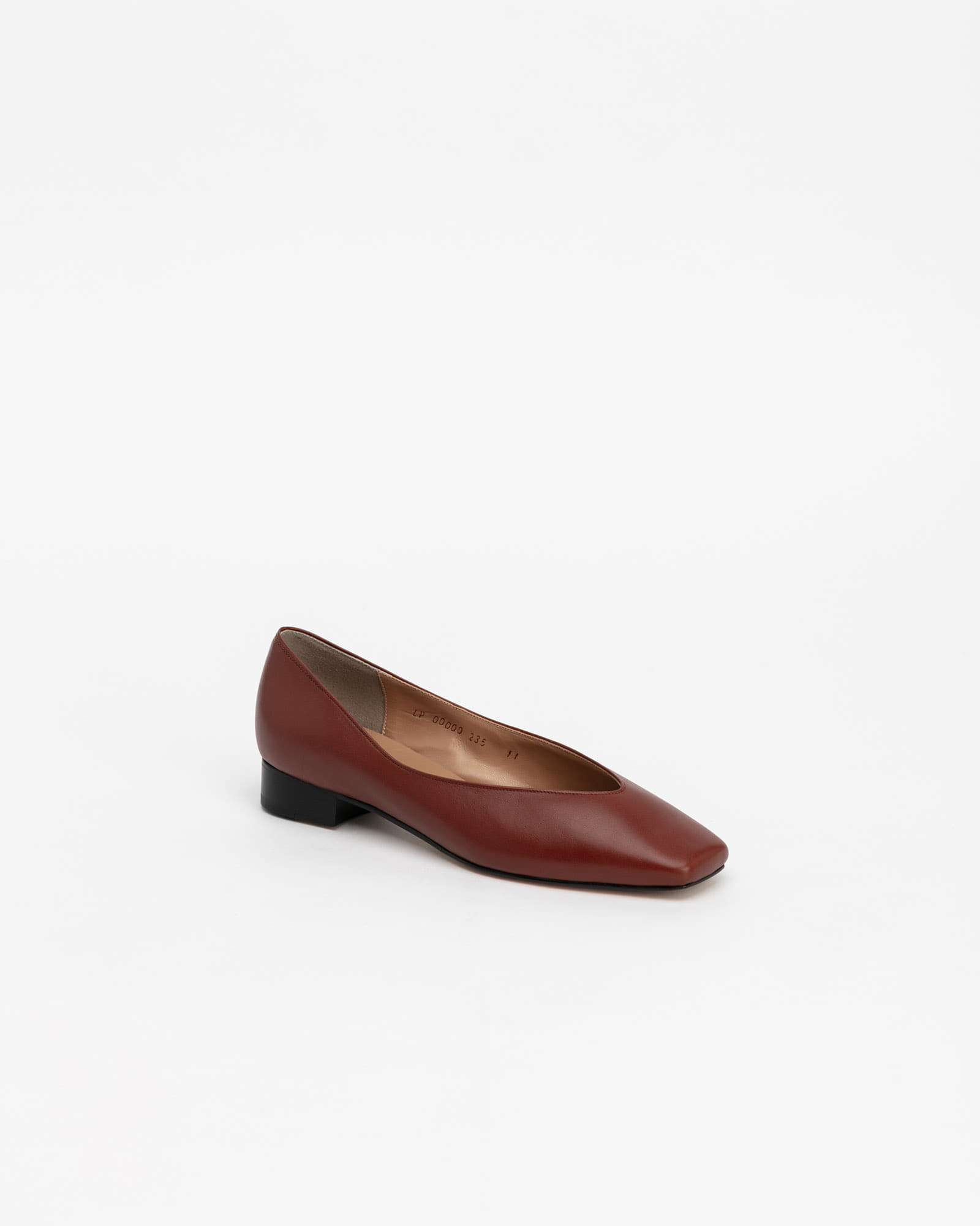 Purin Flat Shoes Barn Brown