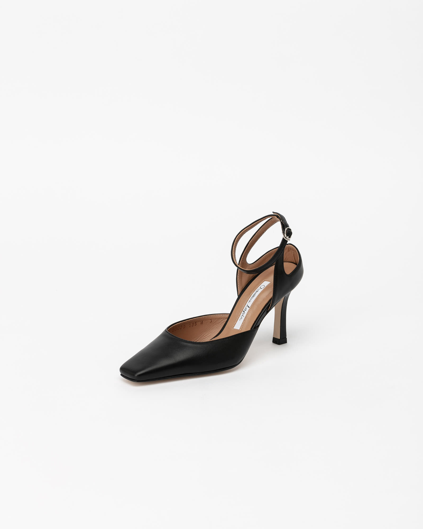 SeQuis Strap Pumps in Black