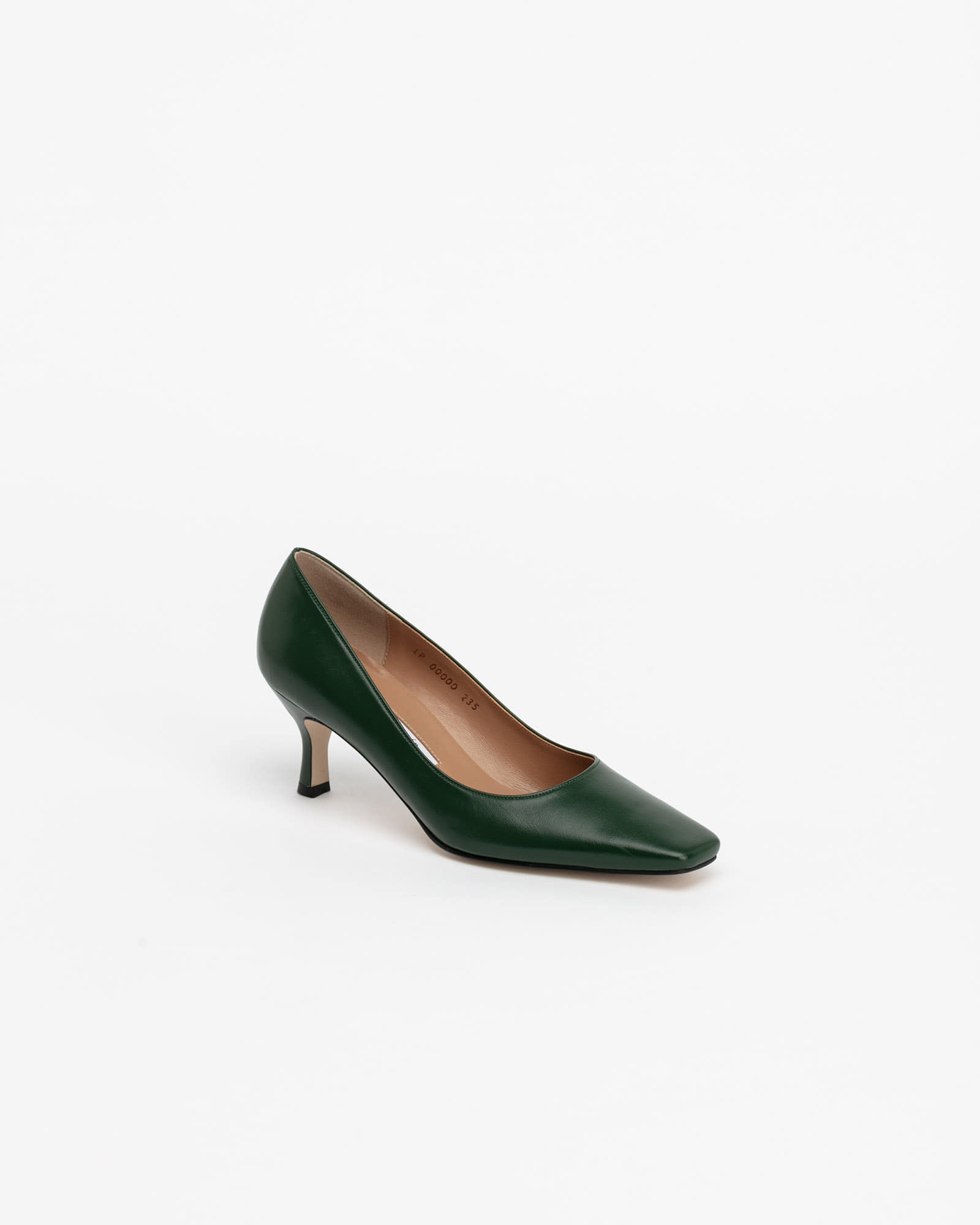 Seraff Pumps in Forest Green