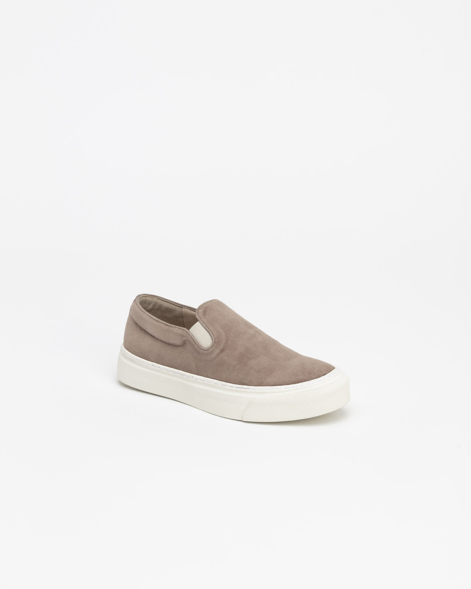 Palo Slip-on Sneakers in Pinky Mocha Suede