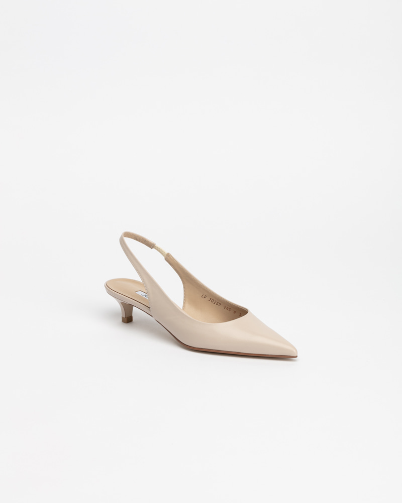 Philo Slingbacks in Pinkish Ivory