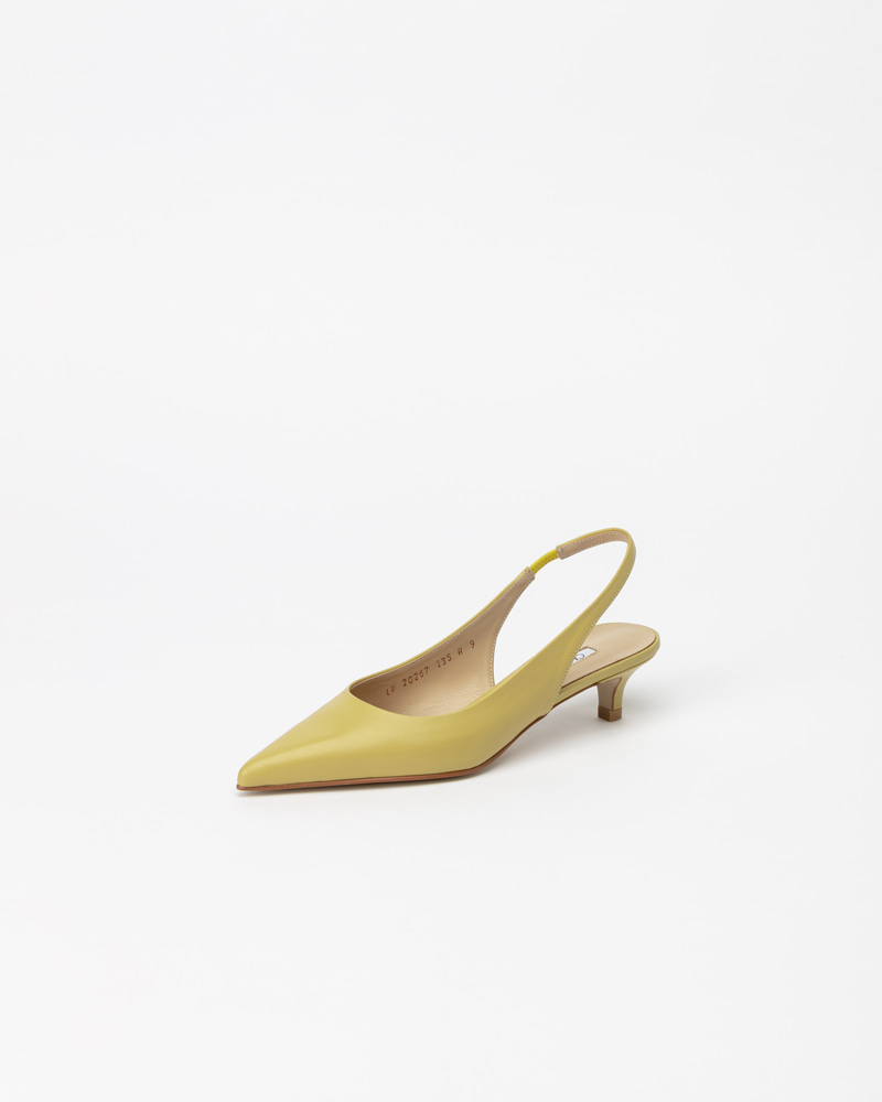 Philo Slingbacks in LineLight Yellow
