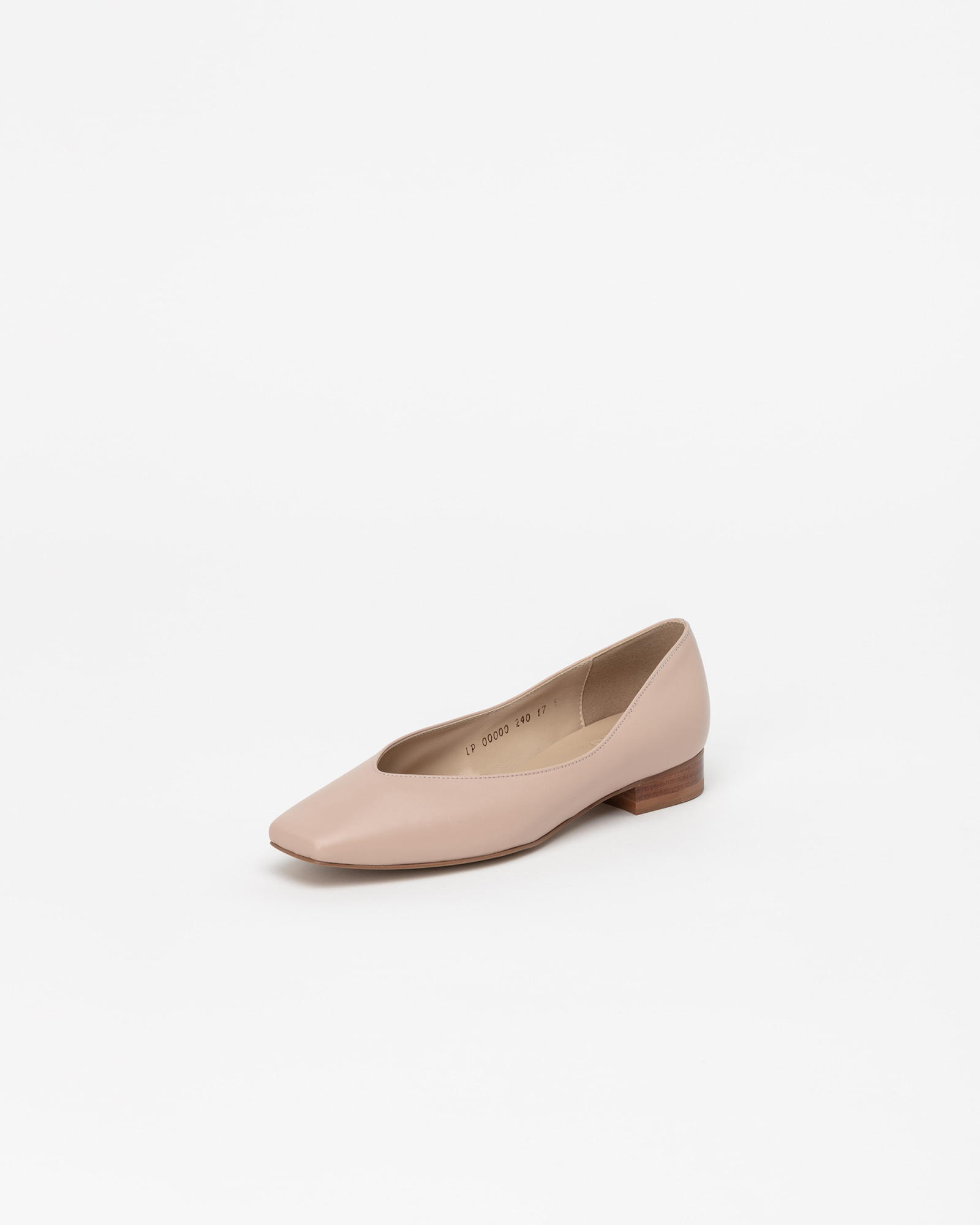 Purin Flat Shoes in Baby Pink