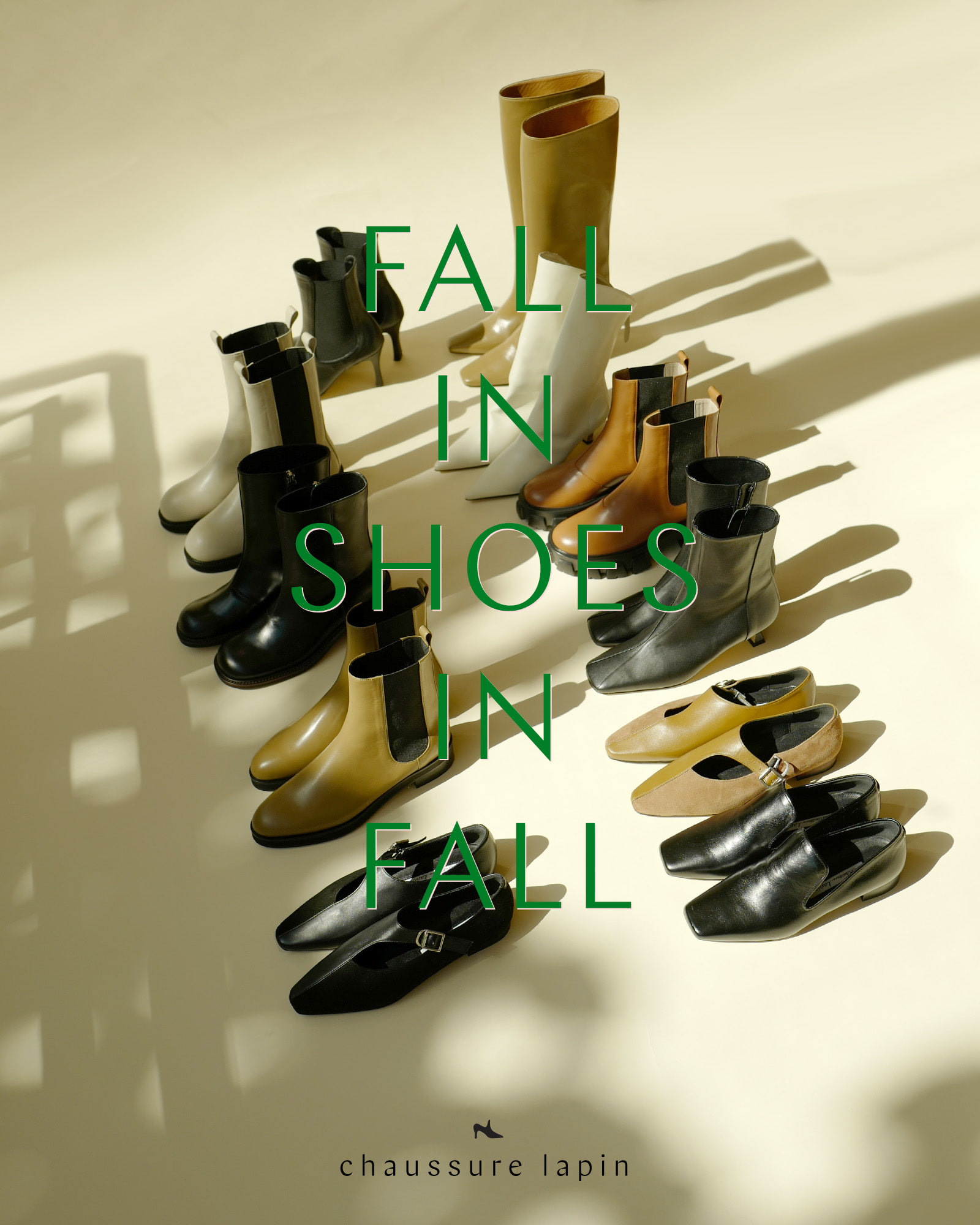 FALL IN SHOES IN FALL